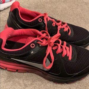 Slightly worn Nike's!